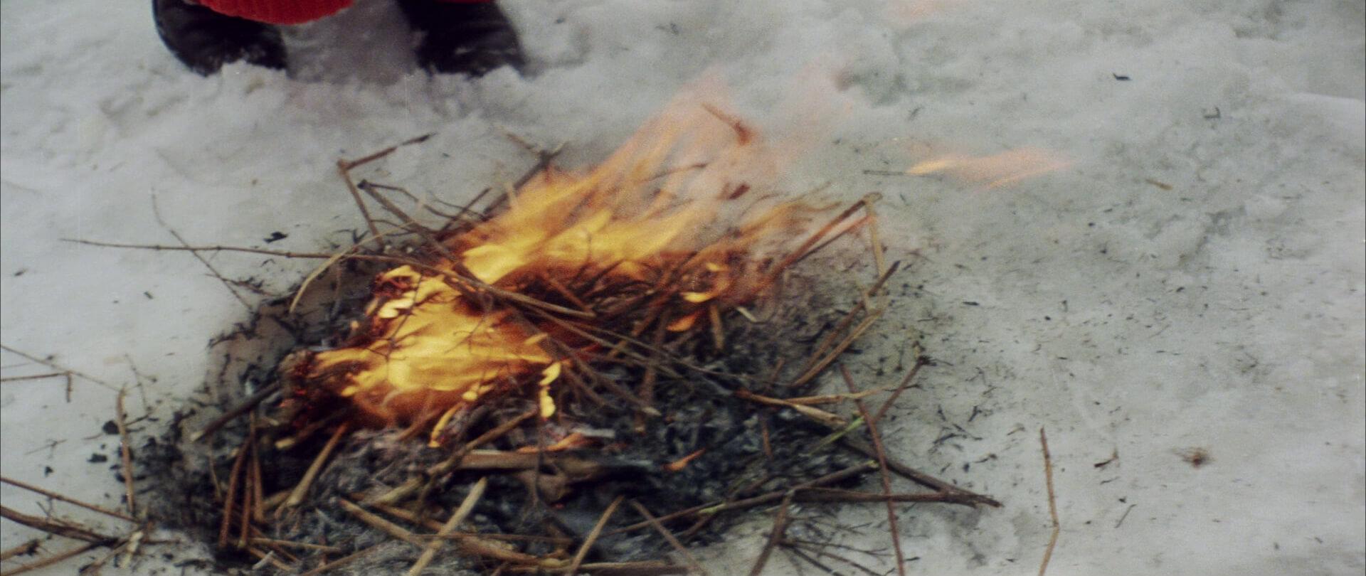 Огонь в фильме «Солярис»